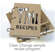Clear Change Sample Recipes